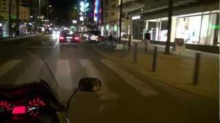 Yamaha TMax 2012 Roadtest per Night and Sightseeing Tour, City of Vienna 1.District