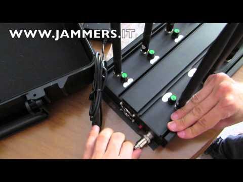 Jammer B53 disturbatore di frequenze cellulari, GPS, wi fi, UHF VHF, LoJack