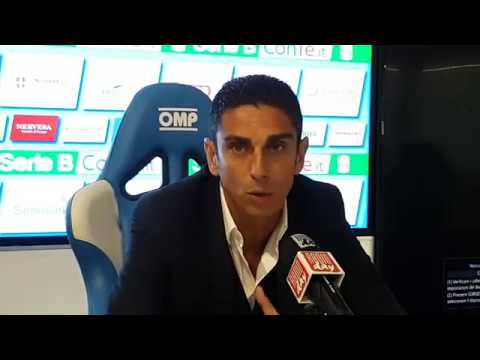 08/10/2017: Novara – Frosinone 2 – 1, video conferenza stampa Moreno Longo