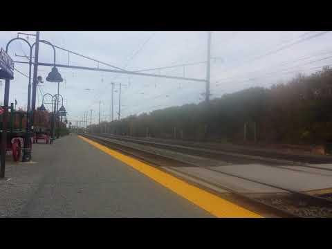 A fast train that shack my camera