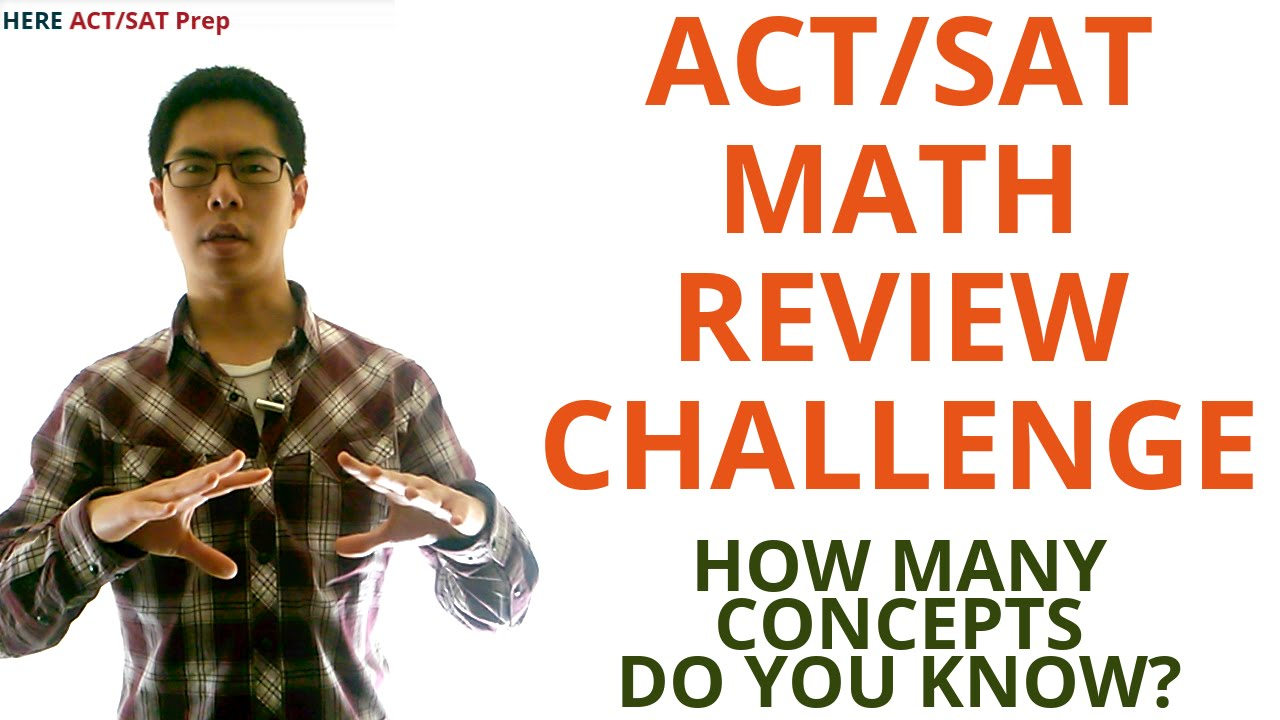 ACT Math Prep Strategies, Tips, and Tricks - 15 Major Concepts to ...