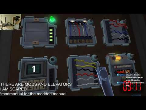 The Elevator of Doom in Keep Talking and Nobody Explodes