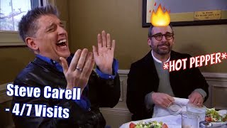 Steve Carell - Craig Reacts To Steve Eating A Pepper - 4/7 Visits In Chronological Order [720p]