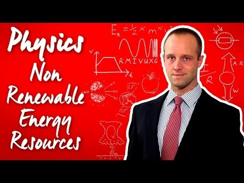 Non Renewable Energy - Physics - Science - Get That C In Your GCSE