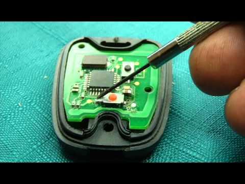 Car key circuit board repair  YouTube