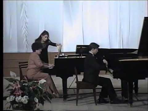 Лист. Концерт №1 для фортепиано с оркестром ми-бемоль мажор (окончание вечера фортепианной музыки)