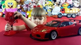 Машинка Феррари на пульте управления. Ferrari F 430 GT на русском языке.(Всем привет) Сегодня делаем обзор игрушечной Ferrari F 430 GT на пульте управления. Приятного просмотра=) Плейлист..., 2015-03-10T10:03:56.000Z)
