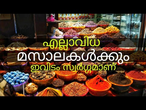 Inside Dubai Spice Souk – Full Experience in Malayalam #NYST