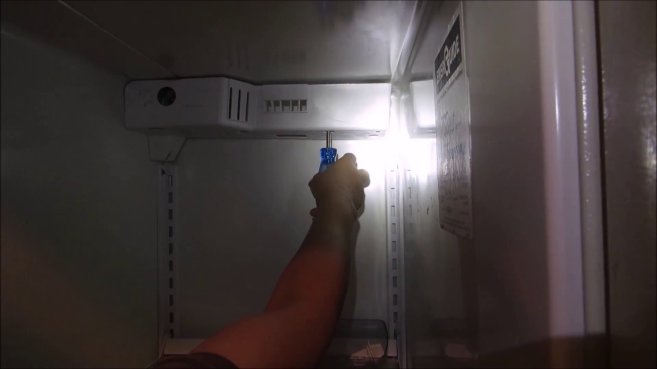 Kenmore Refrigerator Repair >> How to Diagnosis and repair Kenmore Side by Side Fridge Not Defrost - YouTube