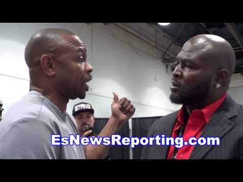 Roy Jones Jr. & James Toney Run Into Each Other In Vegas EsNews