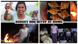 Seafood barbecue night with family/Preparing 7 varieties of bbq food for dinner/Kadal unavu review