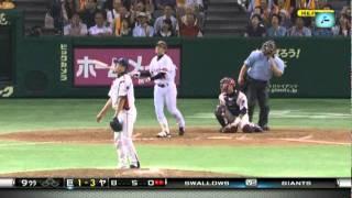 2011年8月21日+25日Tokyo GIANTS Takahashi got a homerun two weeks ag...