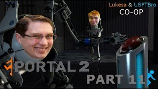 Portal 2 Part 11: Getting Bridge Work Done.