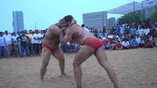 आज़ादी के दिन पर विशेष : हितेश और दुष्यंत पहलवान की कुश्ती Hitesh vs Dushyant