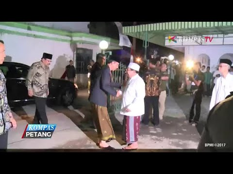 Jokowi Bertemu Si Ganteng dari Ponpes Assunniyyah