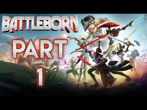 """Battleborn - Let's Play (Story) - Part 1 - [The Algorithm] - """"They Playin..."""""""