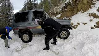 Towards Toli Pir in Winter on Jeep - 2019