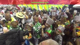 Carnaval 2017: Acadêmicos do Grande Rio Início do Desfile