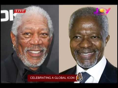 Celebrating a Global Icon (Kofi Annan) on JoyPrime (13-9-18)