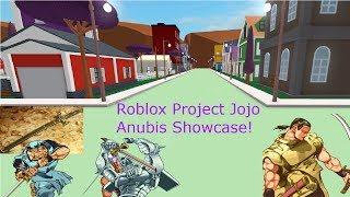 Roblox Project Jojo Anubis Showcase!