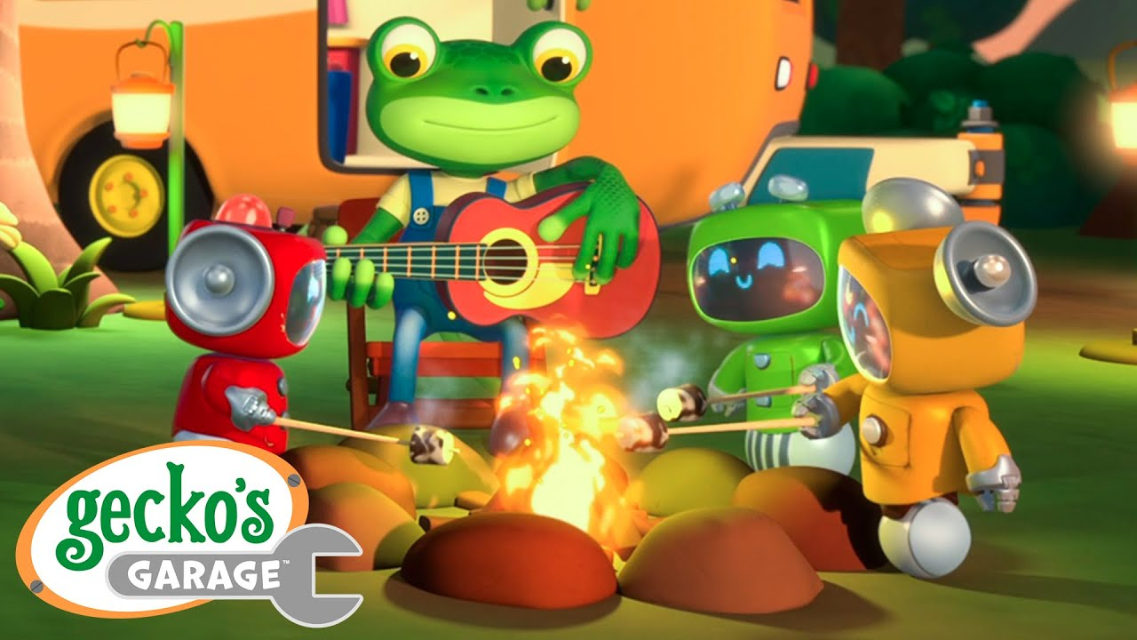 Gecko's Camping Adventure|Gecko's Garage|Funny Cartoon For Kids|Learning Videos For Toddlers