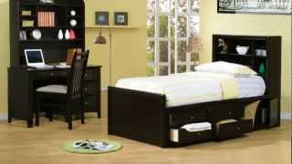 Phoenix Youth Storage Bedroom Collection From Coaster Furniture