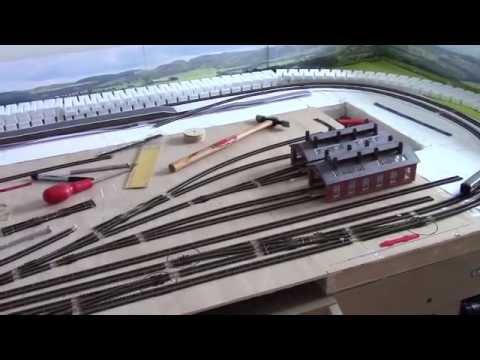 Elvenhome 6 (an N Gauge Railway) – Building Bridges