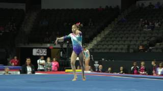 Anapaula Gutierrez - Floor Exercise - 2017 U.S. Classic - Junior Competition