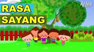 Lagu Kanak Kanak Alif & Mimi - Rasa Sayang (Animasi 2D)