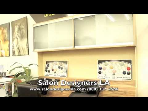 Salon Designers LA   Shampoo Cabinet