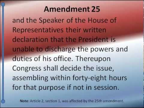 U.S. Constitution Amendments 11-27 -- Hear and Read the Full Text