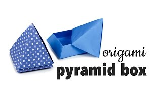 Origami Pyramid Box Tutorial ♥︎