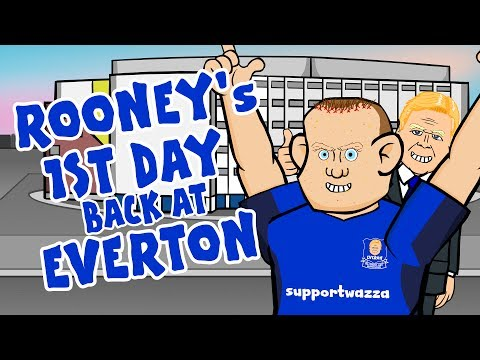 Thumbnail: 💙ROONEY's FIRST DAY BACK💙 (Rooney EVERTON Press Conference)