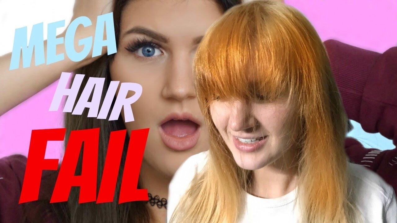 Haare Orange Haare Färben Macht Diesen Fehler Niemals Mega Haarfail