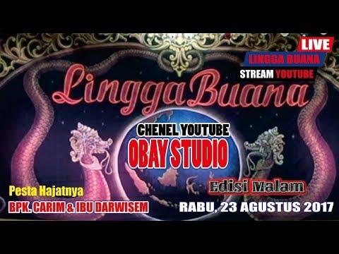 LIVE LINGGA BUANA | EDISI MALAM (KAROMAH PUSAKA SETAN KOBER) LIVE LINGGA JATI - 23 AGUSTUS 2017