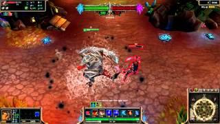 Bloodfury Renekton (2014 Update) Skin Spotlight League of Legends