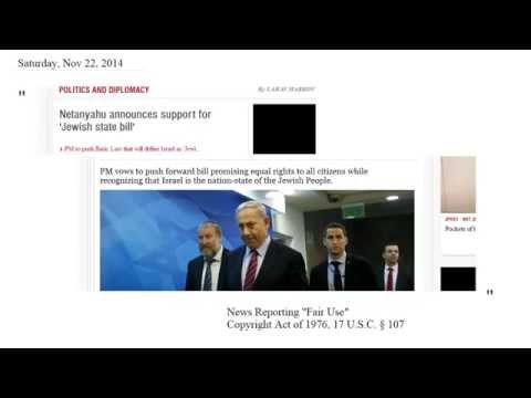 """Israel: """"Jewish State Bill"""" - 11.22.14"""