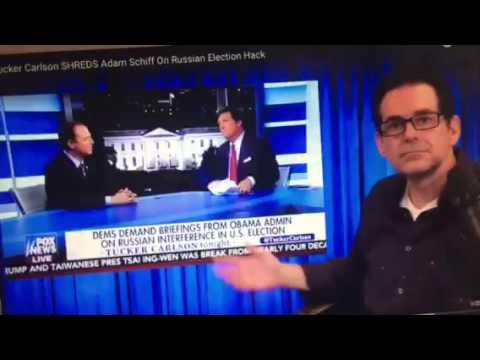 Progressive Talk Show Host Sides with Tucker Carlson on 🇷🇺Hack / Adam Schiff Stupidity