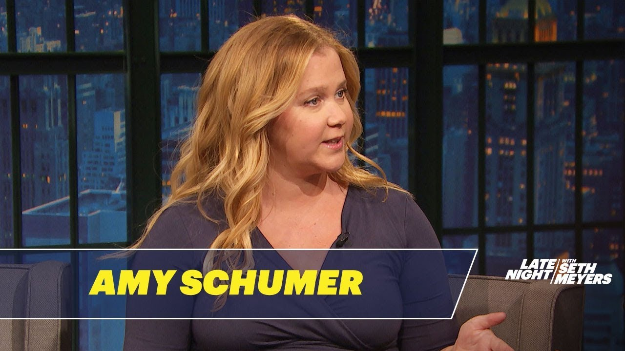 Amy Shelton White amy schumer talks about the reality of living with severe