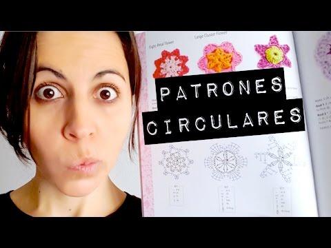 Como leer un PATRON CIRCULAR de crochet / ganchillo   CROCHET SOS ...