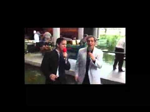 Dino John and Eric Charles at the Omni Hotel