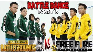 Download lagu BATTLE DANCE FREE FIRE VS PUBG PART 5 - BATTLE DANCE - ENTAH APA YANG MERASUKIMU - EMOTE KEREN
