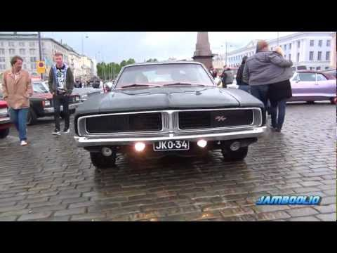 LOUD MUSCLE! 1969 Dodge Charger R/T - incredible V8 and exhaust SOUND!!