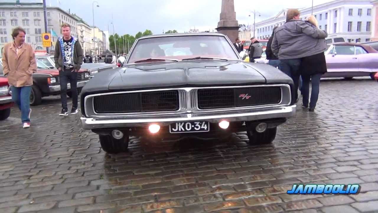 Loud Muscle 1969 Dodge Charger R T Incredible V8 And