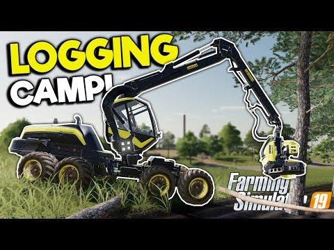 MILLION DOLLAR MULTIPLAYER LOGGING OPERATION! - Farming Simulator Multiplayer 19 Gameplay thumbnail