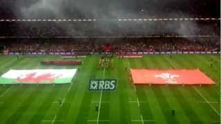 Welsh National Anthem, Land of my Fathers (Wales vs England 2013)