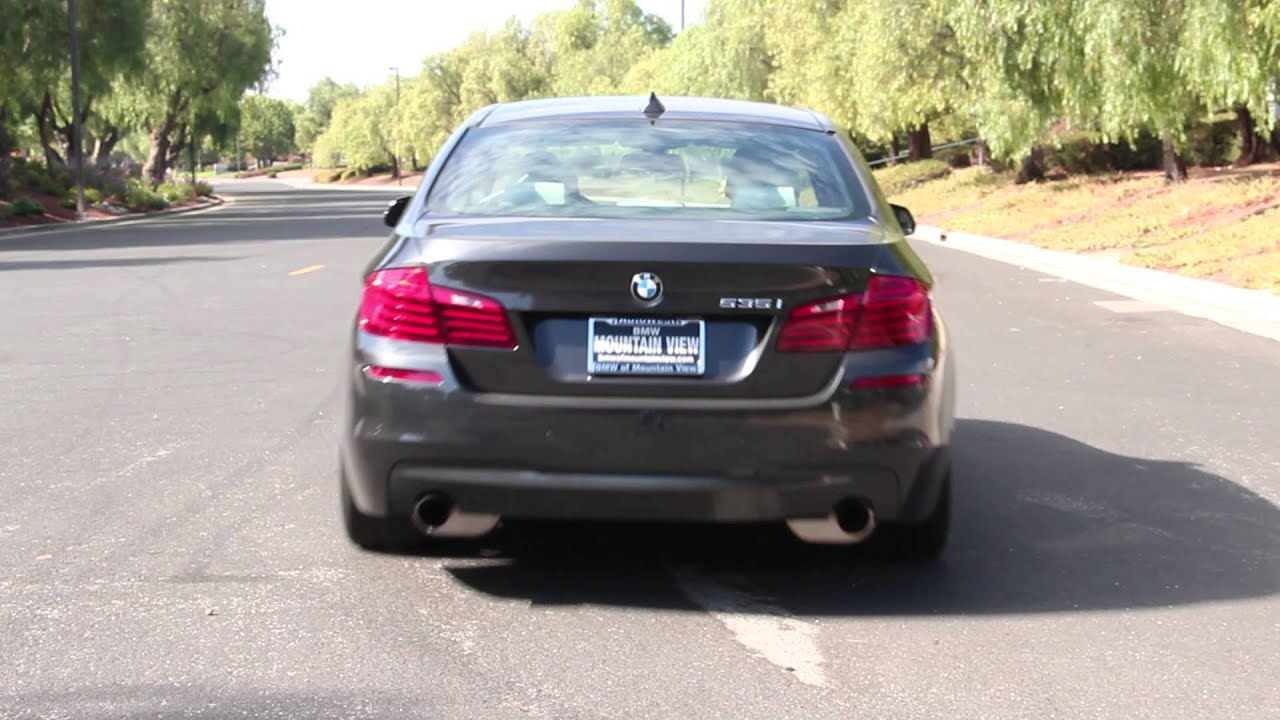 Free Flow Exhaust >> Dinan F10 535i Exhaust - Sound Clip - YouTube