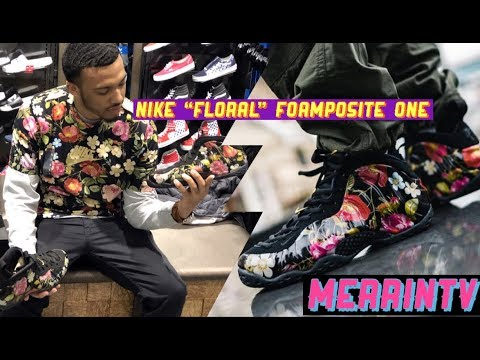 6f8d19b5be1 Nike Foamposite One Floral Review   On Feet (First Pair of Foams ...