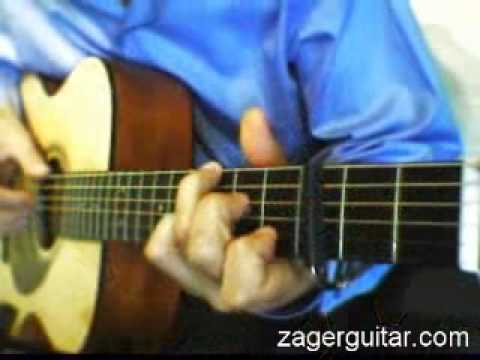 Sister Christian - Night Ranger acoustic guitar