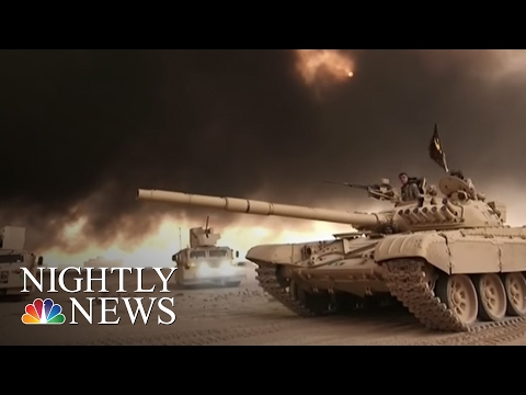 Battle To Drive ISIS From Iraqi Stronghold Of Mosul Begins | NBC Nightly News